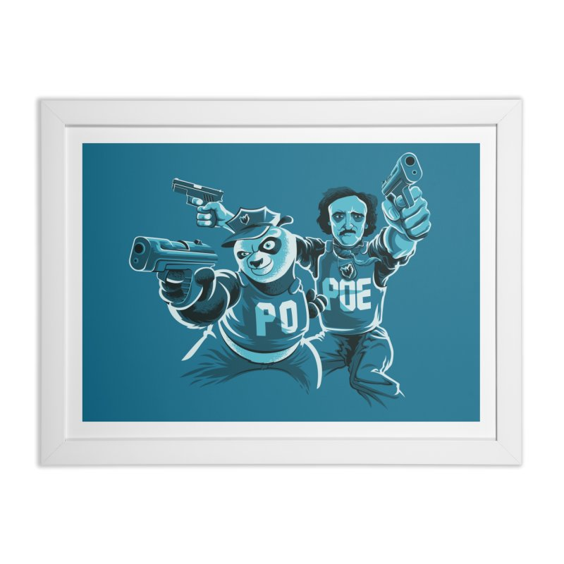 Here comes the PoPoe Home Framed Fine Art Print by mreiselshop's Artist Shop