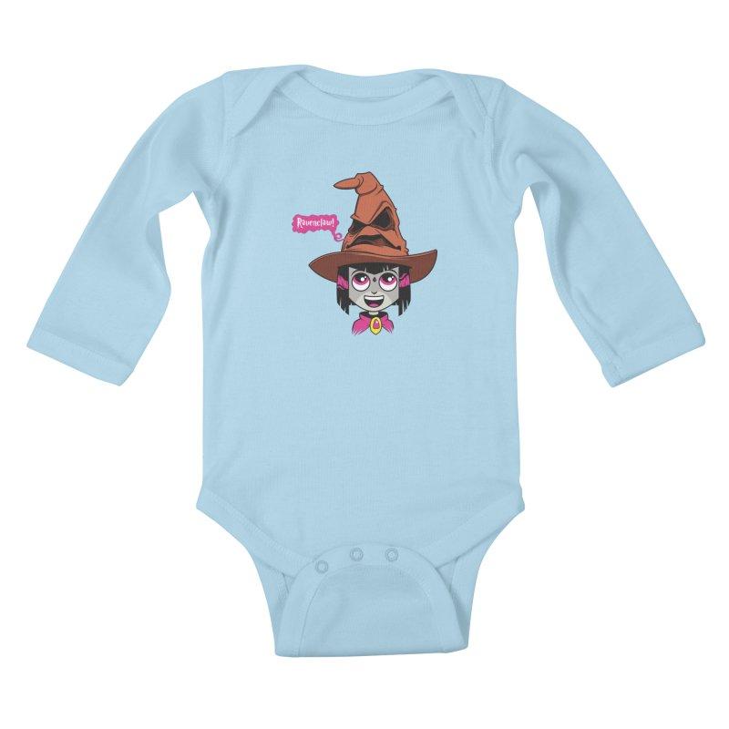 Ravenclaw Kids Baby Longsleeve Bodysuit by mreiselshop's Artist Shop