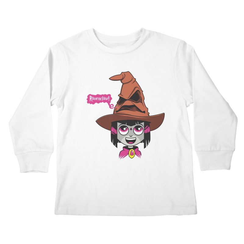Ravenclaw Kids Longsleeve T-Shirt by mreiselshop's Artist Shop