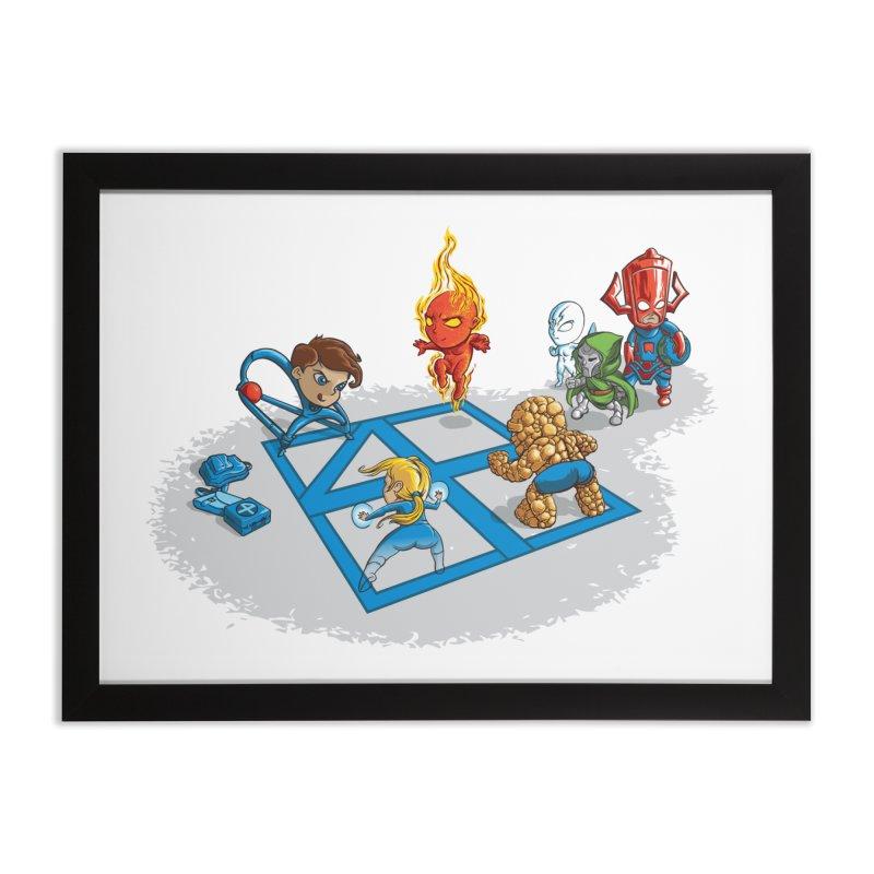 Fantastic 4 Square   by mreiselshop's Artist Shop