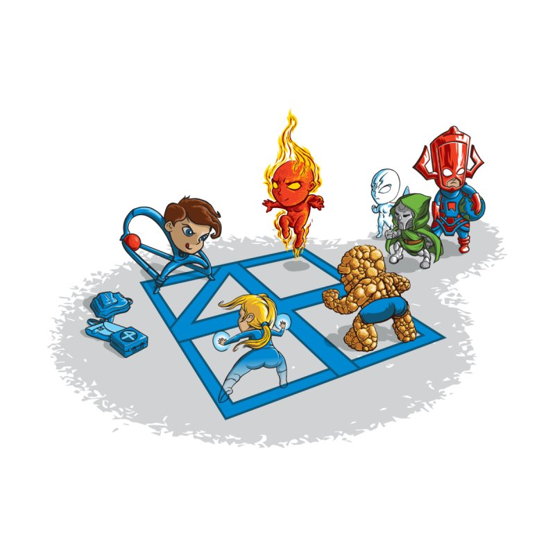 Fantastic 4 Square   by mreiselshop's Artist Shop