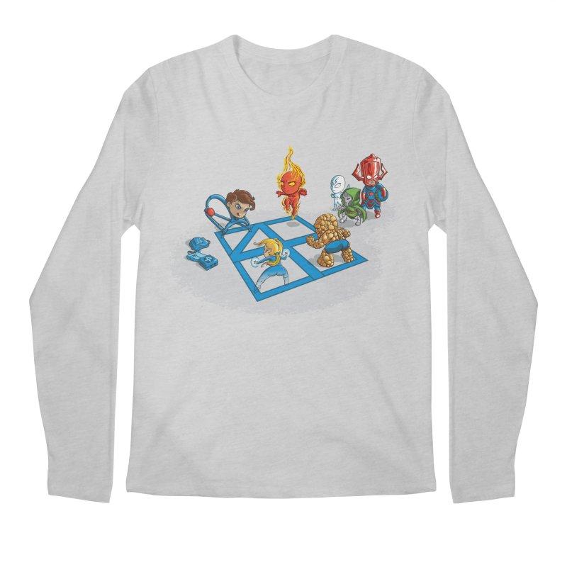 Fantastic 4 Square Men's Longsleeve T-Shirt by mreiselshop's Artist Shop