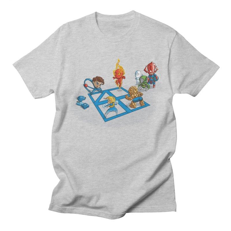 Fantastic 4 Square Men's T-shirt by mreiselshop's Artist Shop