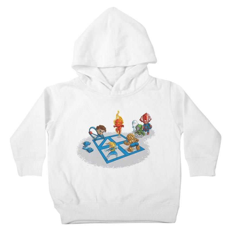 Fantastic 4 Square Kids Toddler Pullover Hoody by mreiselshop's Artist Shop