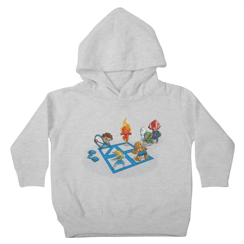 Fantastic 4 Square Kids Toddler Pullover Hoody by mreiselshop's Artist Shop