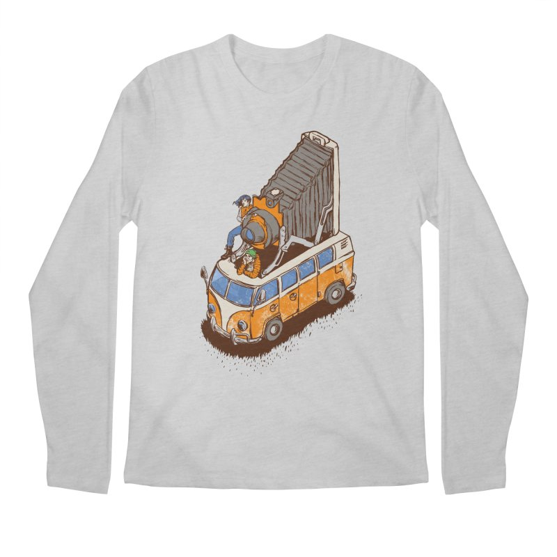 Vansel Adams Men's Longsleeve T-Shirt by mreiselshop's Artist Shop