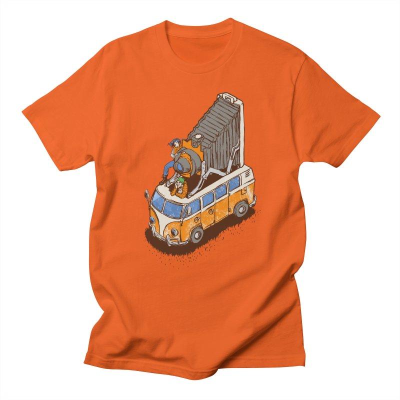 Vansel Adams Men's T-shirt by mreiselshop's Artist Shop
