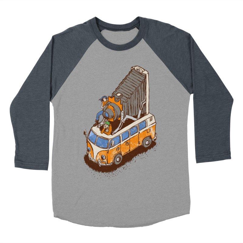 Vansel Adams Men's Baseball Triblend T-Shirt by mreiselshop's Artist Shop