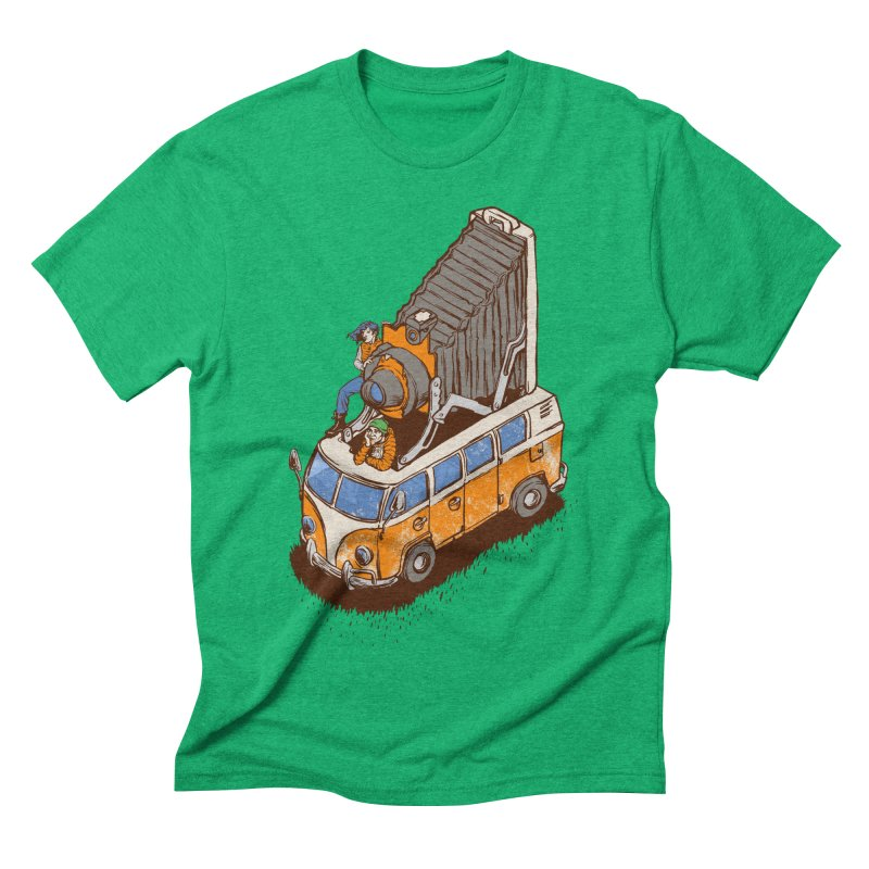 Vansel Adams Men's Triblend T-shirt by mreiselshop's Artist Shop