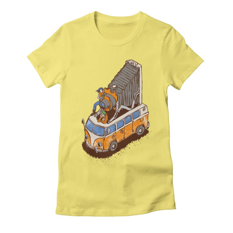 Vansel Adams Women's Fitted T-Shirt by mreiselshop's Artist Shop