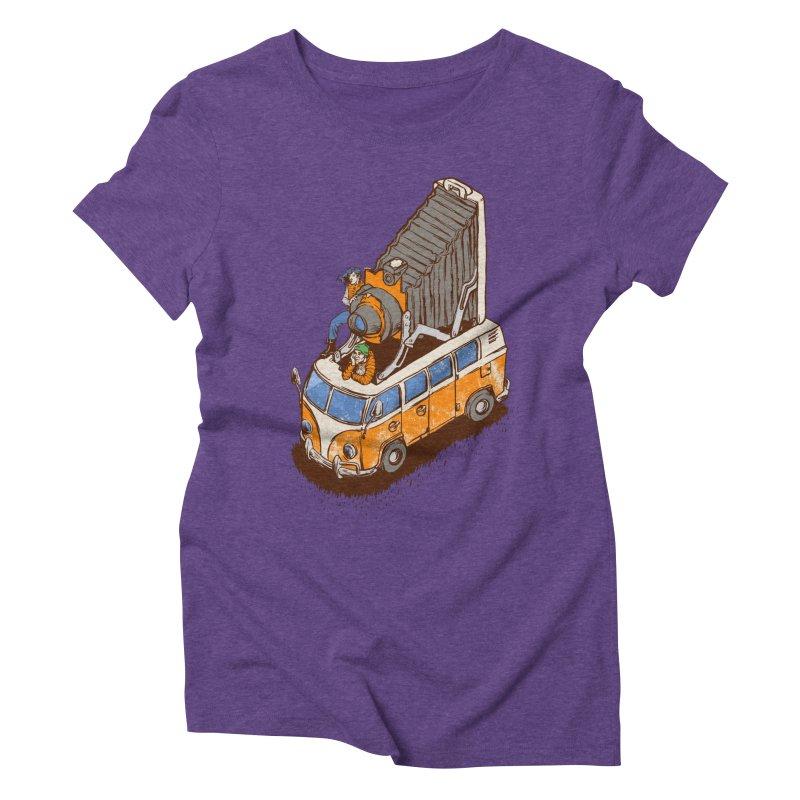 Vansel Adams Women's Triblend T-shirt by mreiselshop's Artist Shop