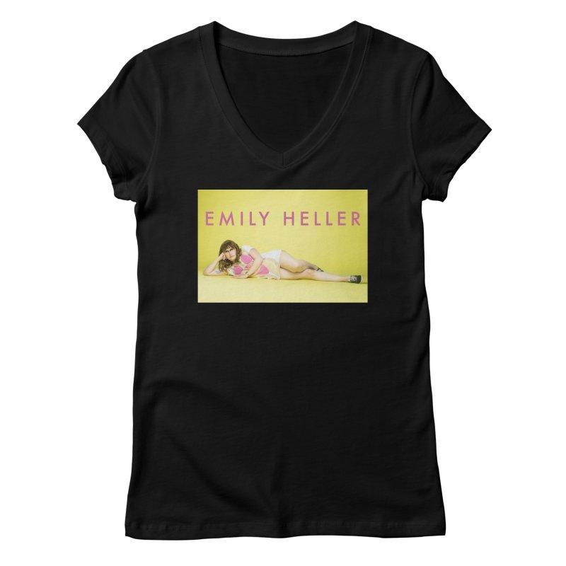 Emily Heller lounge Women's V-Neck by Shop Emily Heller