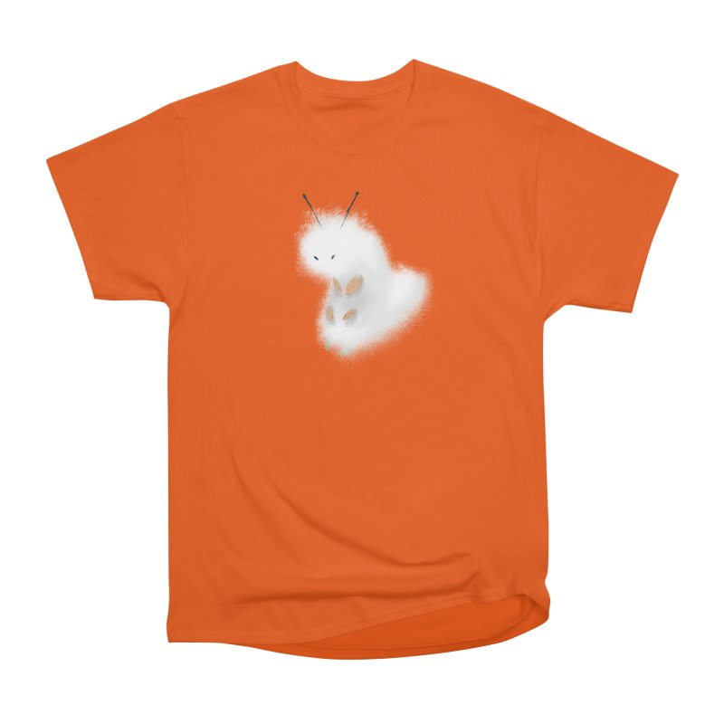 Fuzzy White Caterpillar Women's T-Shirt by mrjaymyers tees and things