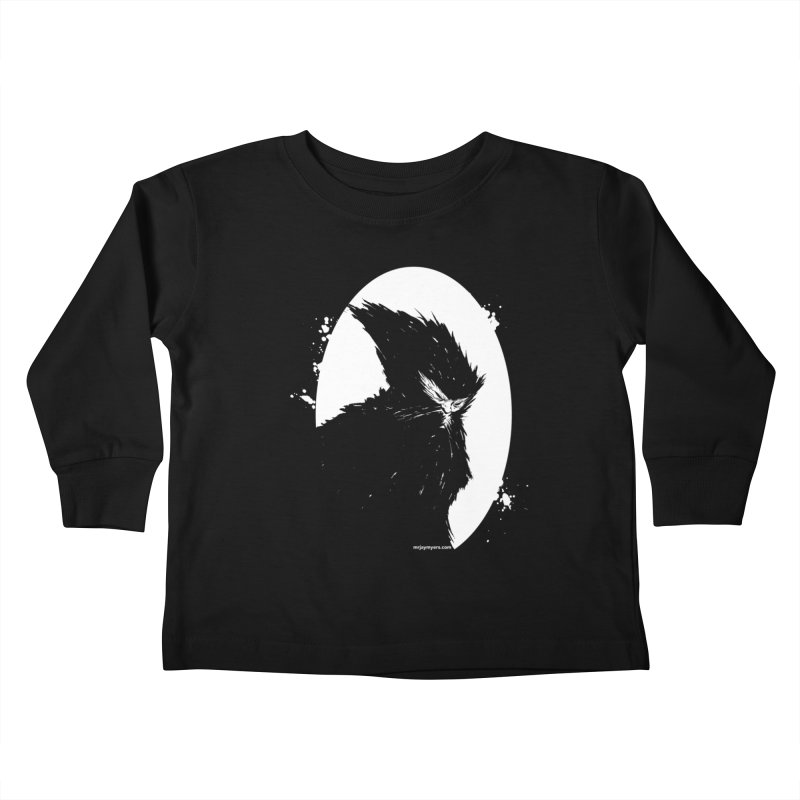 Squatcher #1 Kids Toddler Longsleeve T-Shirt by mrjaymyers tees and things