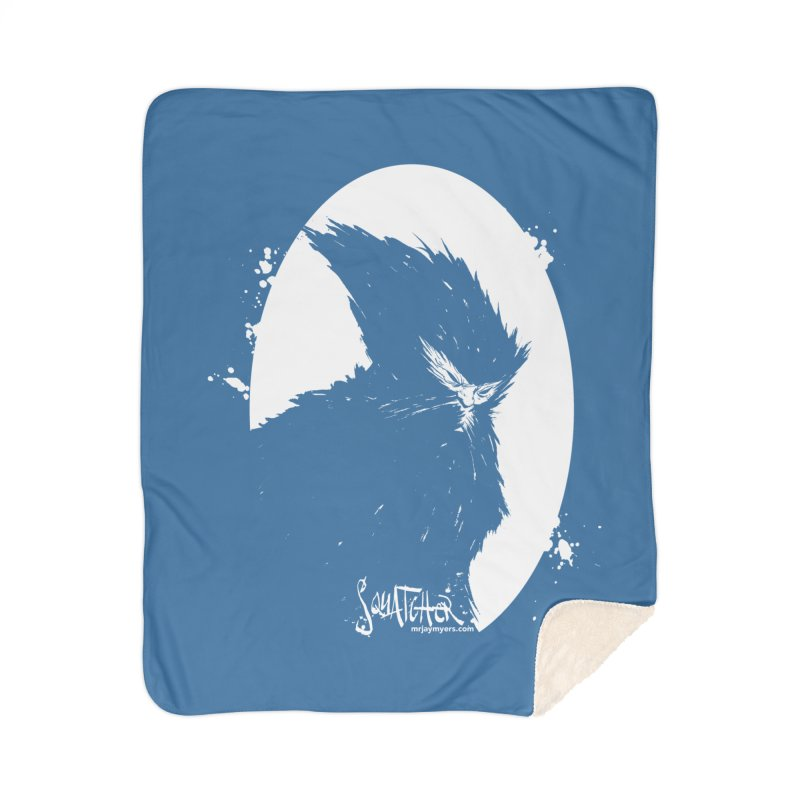 Squatcher #2 (With Label) Home Blanket by mrjaymyers tees and things