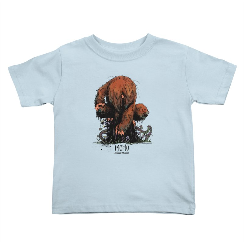 Missouri Monster Kids Toddler T-Shirt by mrjaymyers tees and things
