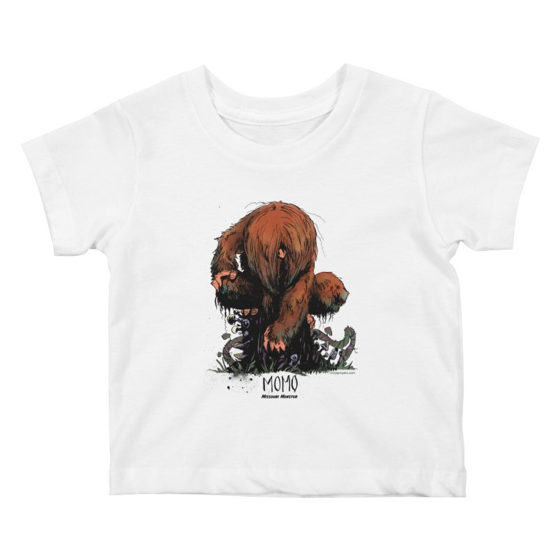 Missouri Monster Kids Baby T-Shirt by mrjaymyers tees and things