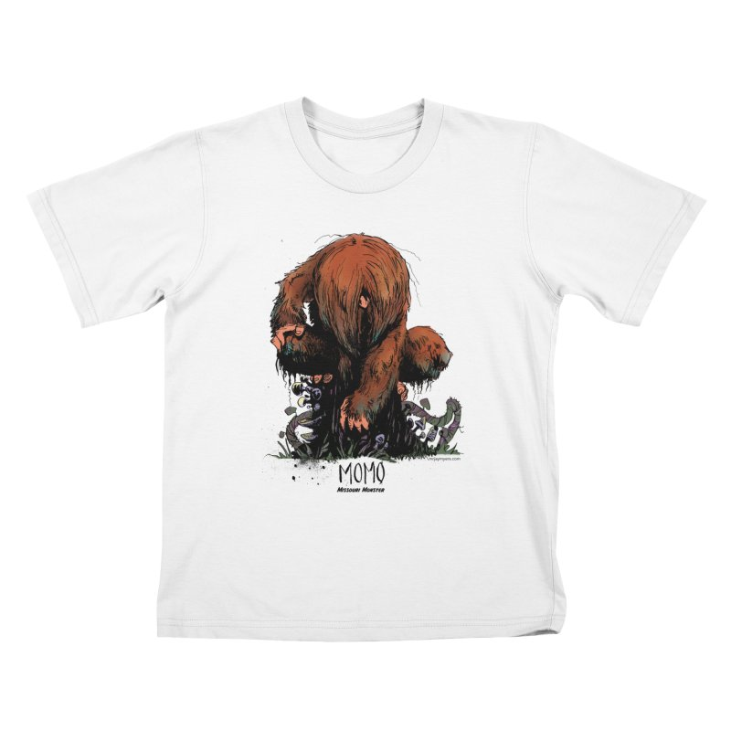 Missouri Monster Kids T-Shirt by mrjaymyers tees and things