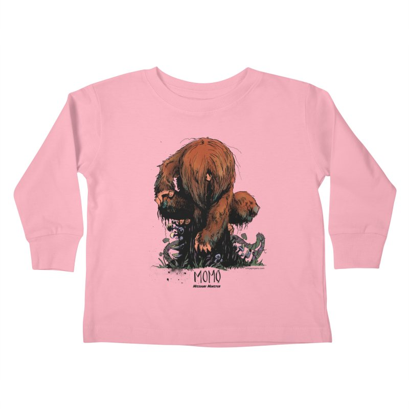 Missouri Monster Kids Toddler Longsleeve T-Shirt by mrjaymyers tees and things