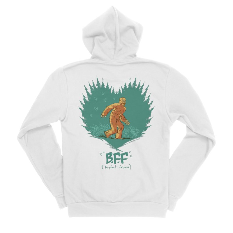 B.F.F Men's Zip-Up Hoody by mrjaymyers tees and things