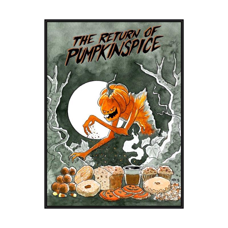 The Return of Pumpkinspice Men's T-Shirt by M. R. Kessell's Artist Shop