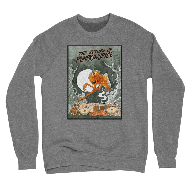 The Return of Pumpkinspice Men's Sweatshirt by M. R. Kessell's Artist Shop
