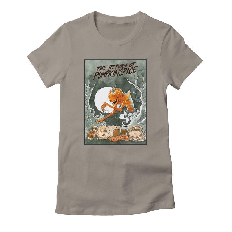 The Return of Pumpkinspice Women's T-Shirt by M. R. Kessell's Artist Shop