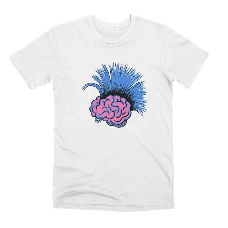 A Hair-Brained Idea Men's T-Shirt by M. R. Kessell's Artist Shop