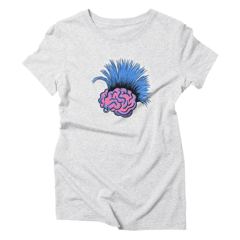 A Hair-Brained Idea Women's T-Shirt by M. R. Kessell's Artist Shop