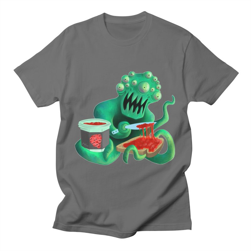 MAN SPREAD on Space Toast Men's T-Shirt by M. R. Kessell's Artist Shop