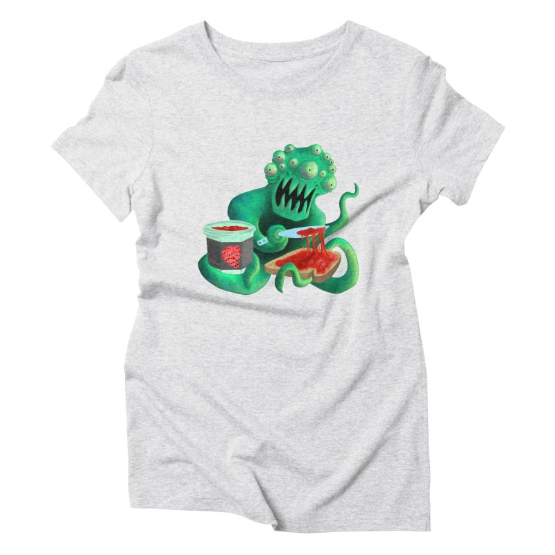 MAN SPREAD on Space Toast Women's T-Shirt by M. R. Kessell's Artist Shop