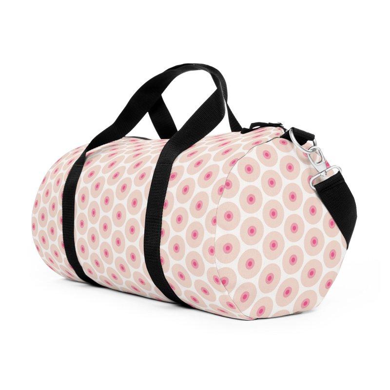 Tits Motif Pattern Accessories Duffel Bag Bag by Mr Loco Motif