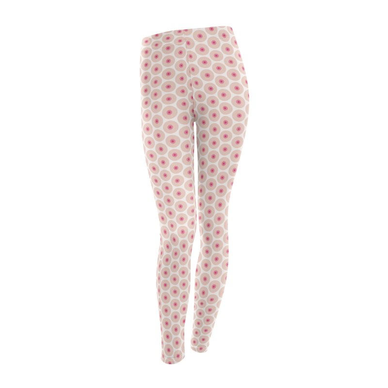 Tits Motif Pattern Women's Leggings Bottoms by Mr Loco Motif