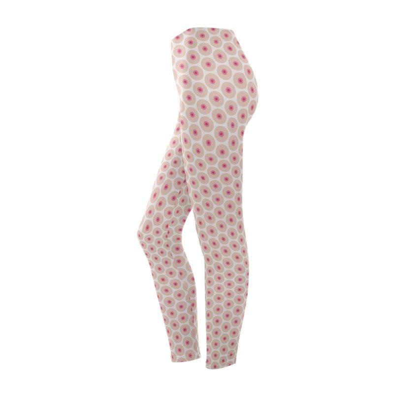 Tits Motif Pattern Women's Bottoms by Mr Loco Motif