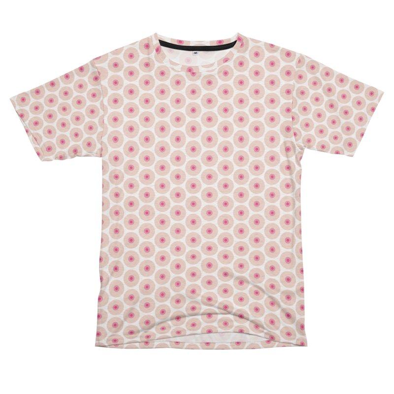 Tits Motif Pattern Men's French Terry T-Shirt Cut & Sew by Mr Loco Motif