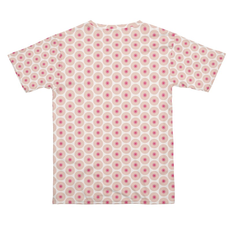 Tits Motif Pattern Men's Cut & Sew by Mr Loco Motif