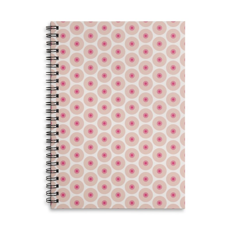 Tits Motif Pattern Accessories Lined Spiral Notebook by Mr Loco Motif - Artist Shop