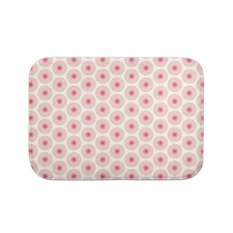 Tits Motif Pattern Home Bath Mat by Mr Loco Motif