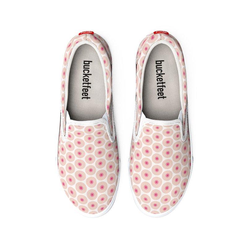 Tits Motif Pattern Men's Shoes by Mr Loco Motif