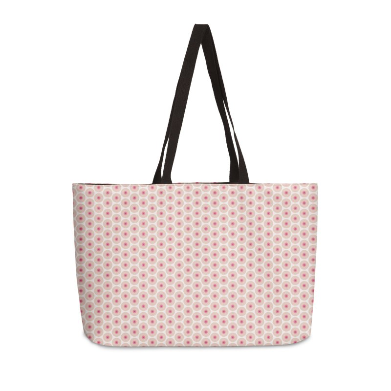 Tits Motif Pattern Accessories Weekender Bag Bag by Mr Loco Motif
