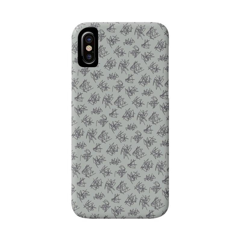 Scribble Motif Pattern Accessories Phone Case by Mr Loco Motif - Artist Shop