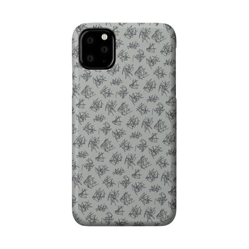 Scribble Motif Pattern Accessories Phone Case by Mr Loco Motif