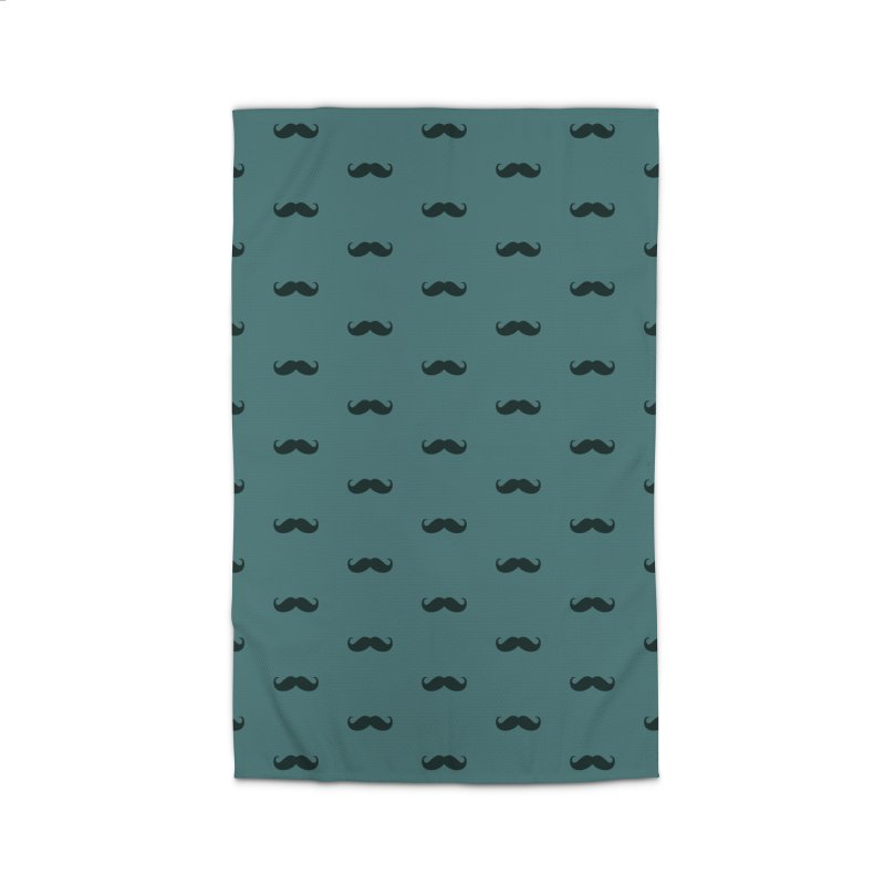 Mustache Motif Pattern Home Rug by Mr Loco Motif