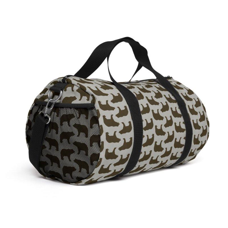 Bear Motif Pattern Accessories Bag by Mr Loco Motif - Artist Shop