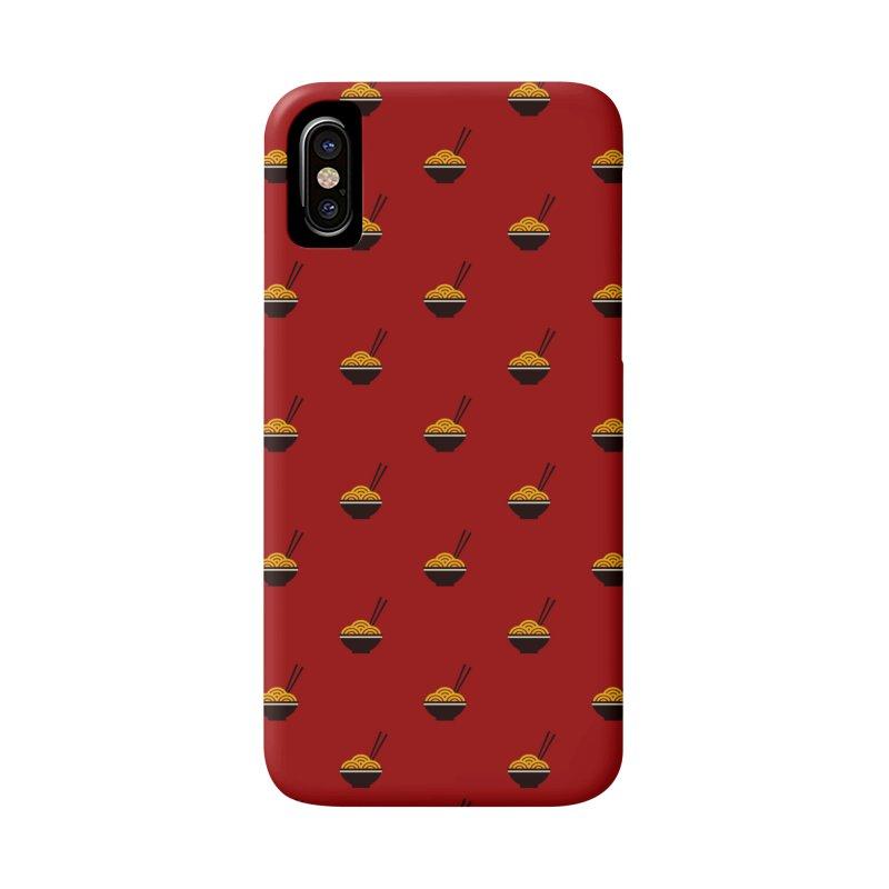 Noodles Motif Pattern Accessories Phone Case by Mr Loco Motif - Artist Shop