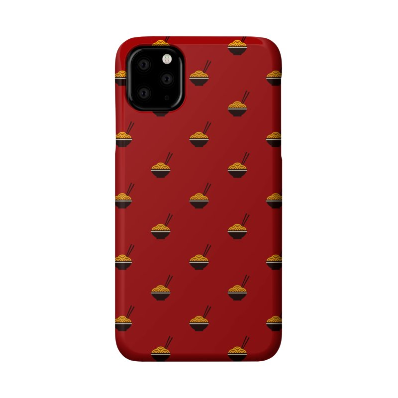 Noodles Motif Pattern Accessories Phone Case by Mr Loco Motif