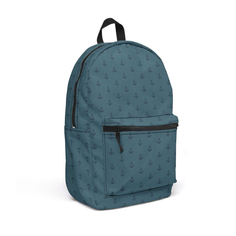 Anchor Motif Pattern Accessories Backpack Bag by Mr Loco Motif