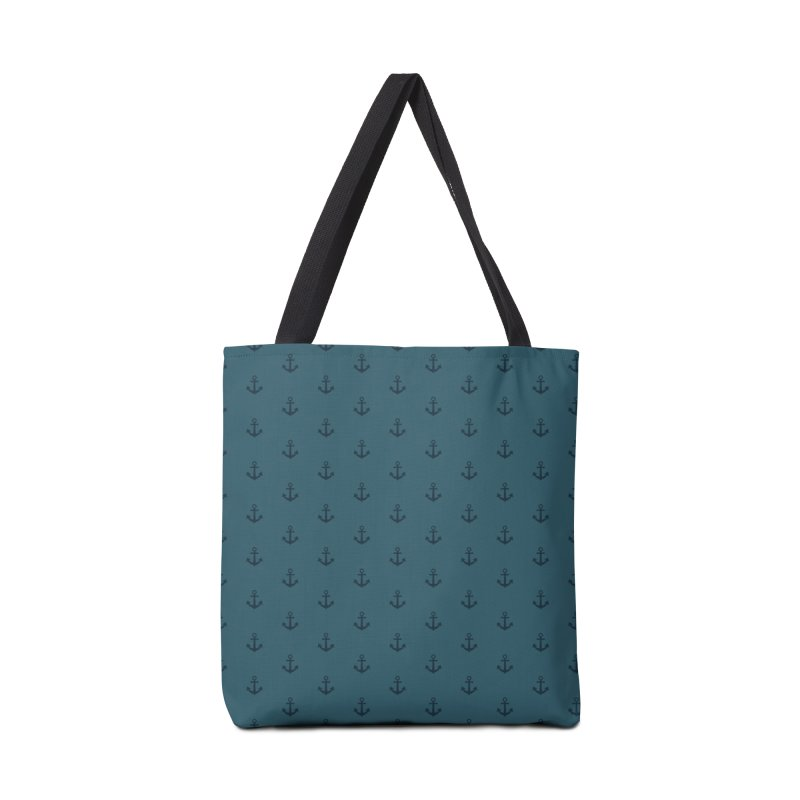 Anchor Motif Pattern Accessories Tote Bag Bag by Mr Loco Motif