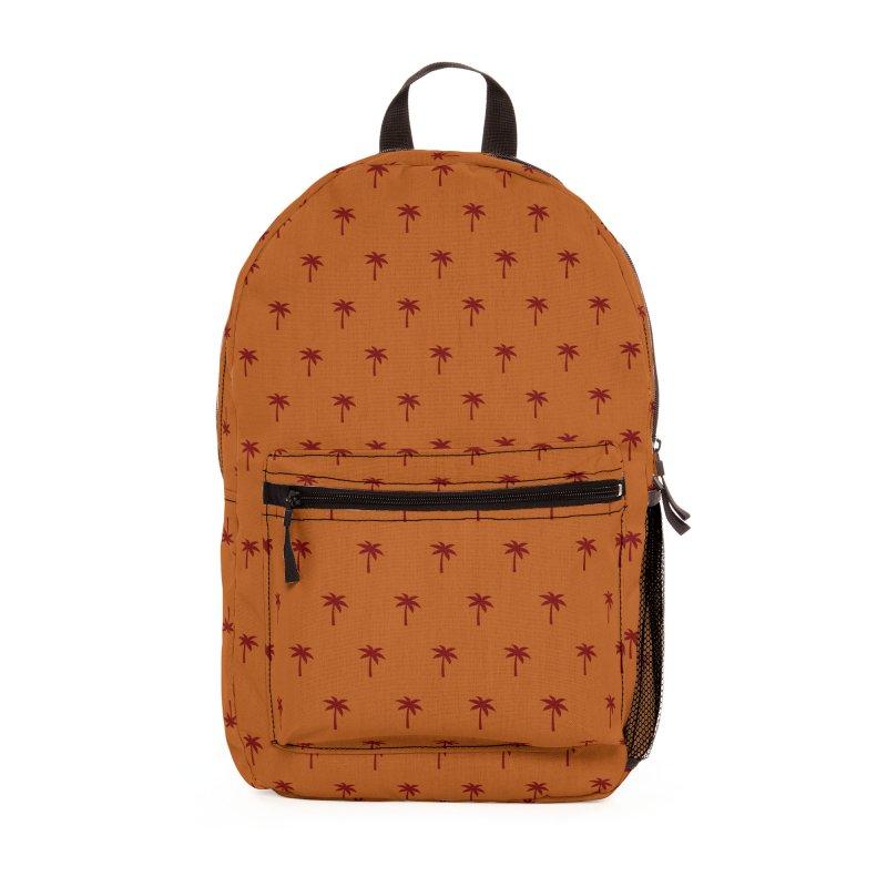 Palm Motif Pattern Accessories Bag by Mr Loco Motif