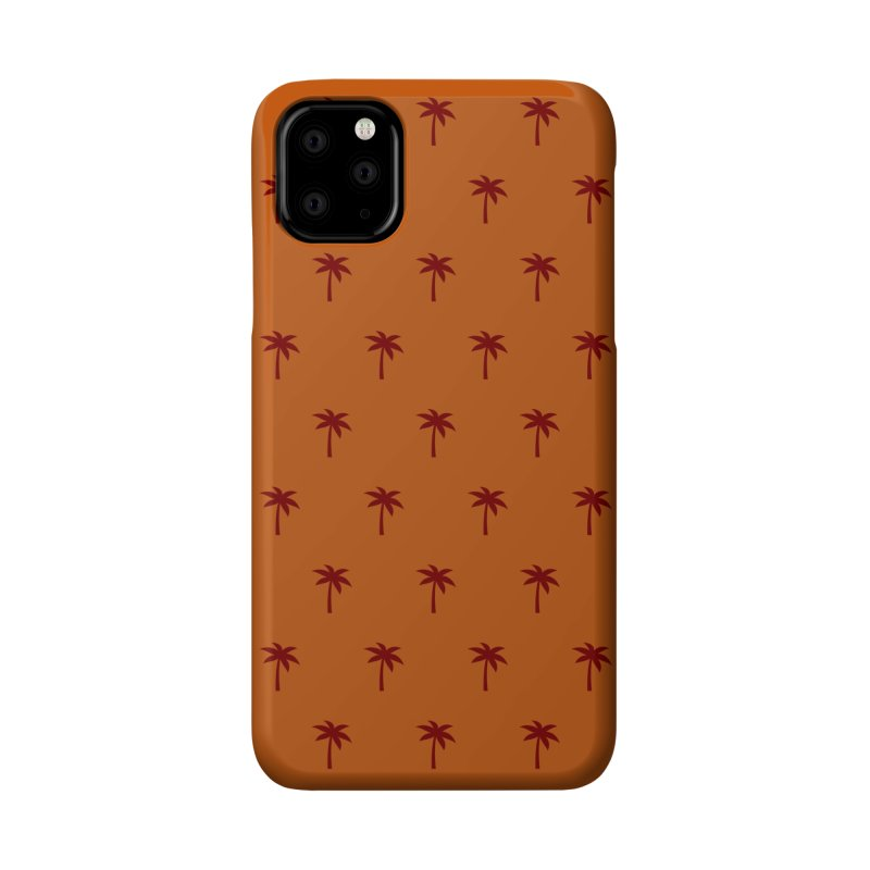 Palm Motif Pattern Accessories Phone Case by Mr Loco Motif